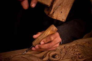 woodcarving work