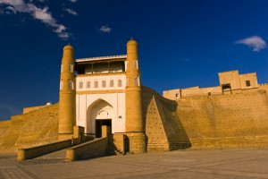 Entrance to the Ark fortress Bukhara