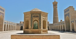 Historic sites in Bukhara