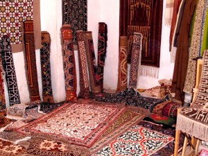 Museum of carpets in Bukhara
