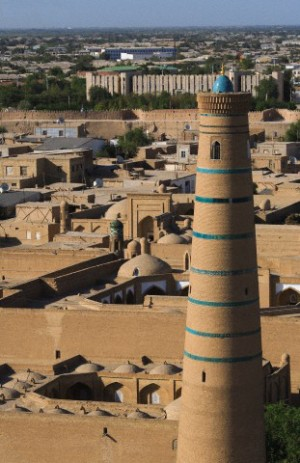 Juma mosque and minaret, Khiva