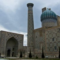 Samarkand, Ulugbek Medressa at Registan