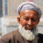 Old Uzbek man in Bukhara