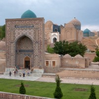 Samarkand, Shahi Zinda (Tomb of the Living King)