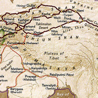Cities of Uzbekistan - Samarkand, Bukhara, Khiva were located along the Great Silk Road which connected the East and West till Sea Routes got opened.
